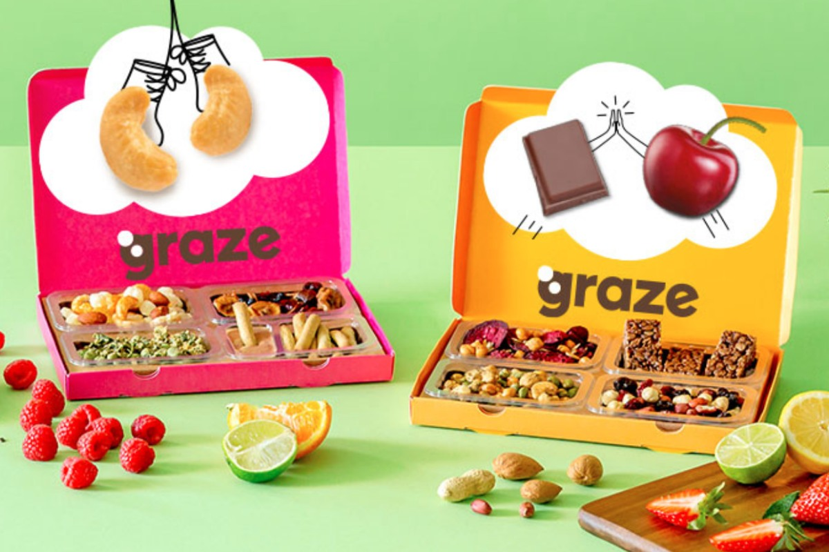 FREE Graze Box (Worth £4.49)