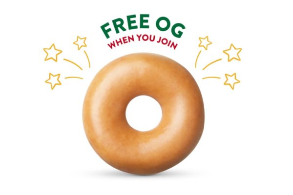 Join Krispy Rewards & Get A FREE Krispy Kreme!