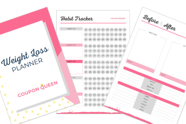 FREE Printable Weight Loss Planner (21 Pages)