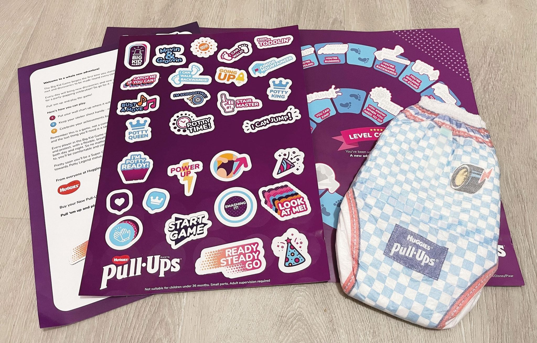 Free Potty Training Game Pack from Huggies Pull-ups