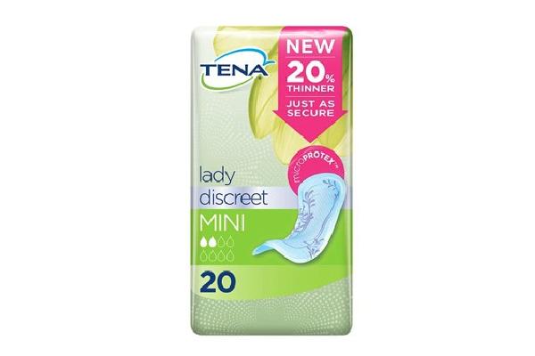 FREE Sample Of TENA Lady Discreet Mini