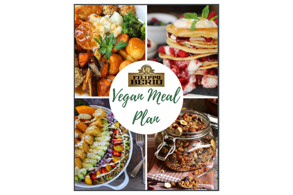 FREE Filippo Berio Vegan Meal Plan