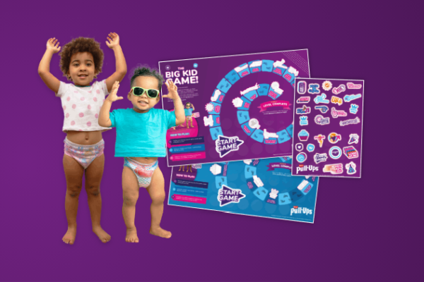FREE Potty Training Game From Huggies Pull-ups