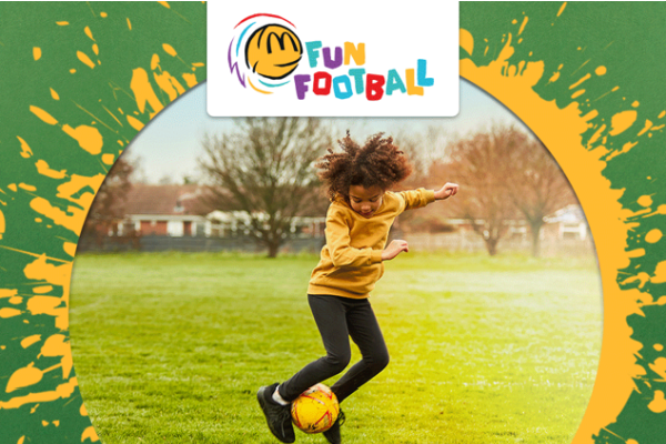 FREE Fun Football Sessions For Your Child From McDonald's