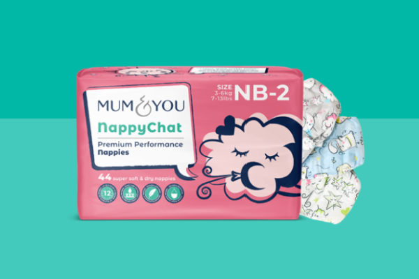 FREE Pack Of Mum & You Nappies (Just Pay £2 Postage)