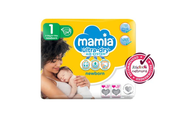 FREE Pack Of Mamia Newborn Nappies