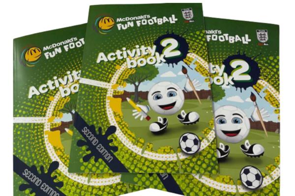 FREE Football Activity Book From McDonald's