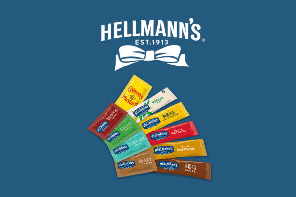 FREE Hellmann's Sauce Sachets For Caterers