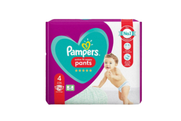 FREE Pack Of Pampers Active Fit Nappies