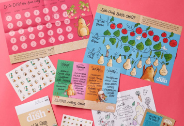FREE Children's Activity Pack From Little Dish