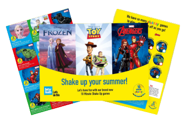 FREE Disney Game Pack From Change4Life