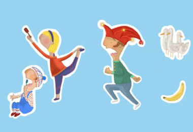FREE Children's Stickers From Punch & Judy